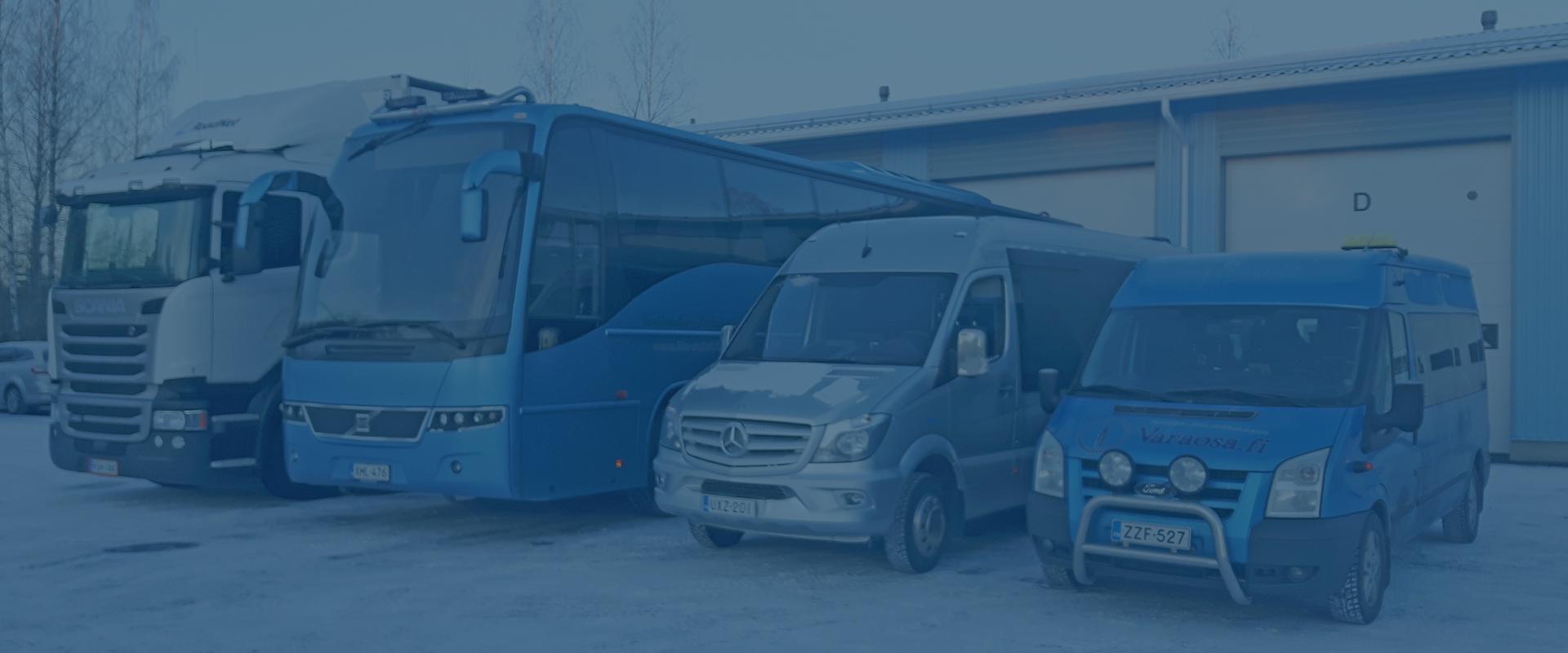 Tavarakuljetukset ja tilausajot sopimuksen mukaan - Pirkanmaan Kuljetuspalvelu Oy