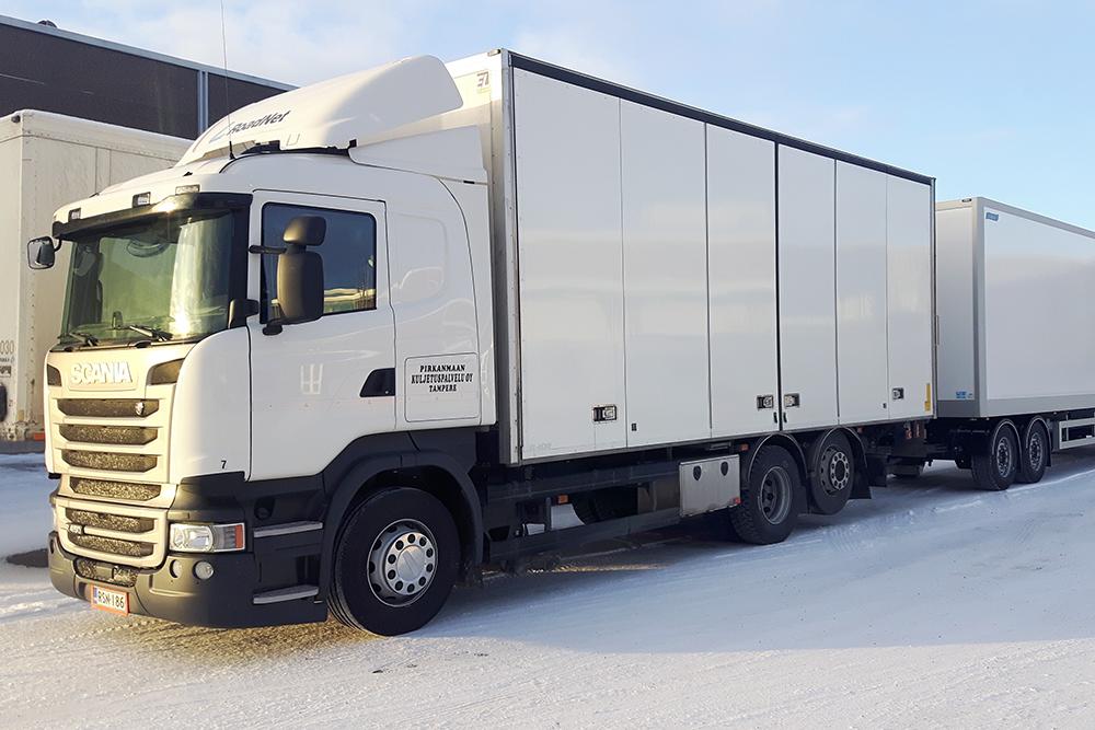 Tavarakuljetukset Tampereen seudulta - Pirkanmaan Kuljetuspalvelu Oy
